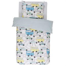 Børnesengetøj - Covers & Co - Vroomm Multi