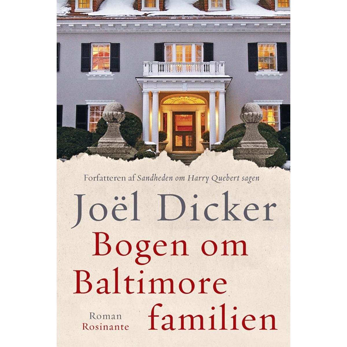 Image of   Bogen om Baltimore-familien - Indbundet