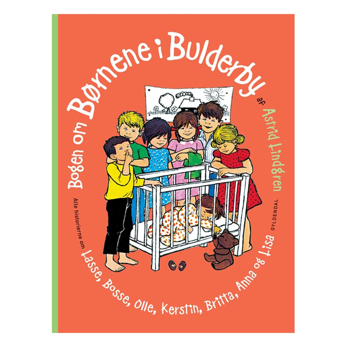 Image of   Bogen om børnene i Bulderby - Indbundet
