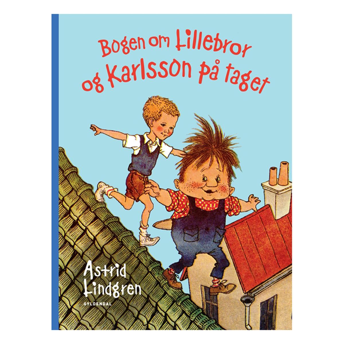 Image of   Bogen om Lillebror og Karlsson på taget - Indbundet