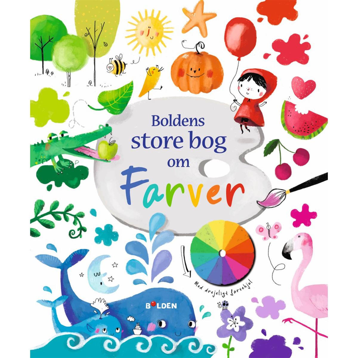 Image of   Boldens store bog om farver - Hardback