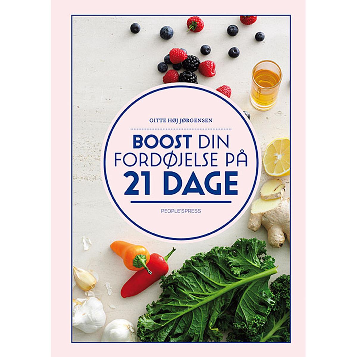 Image of   Boost din fordøjelse - på 21 dage - Indbundet