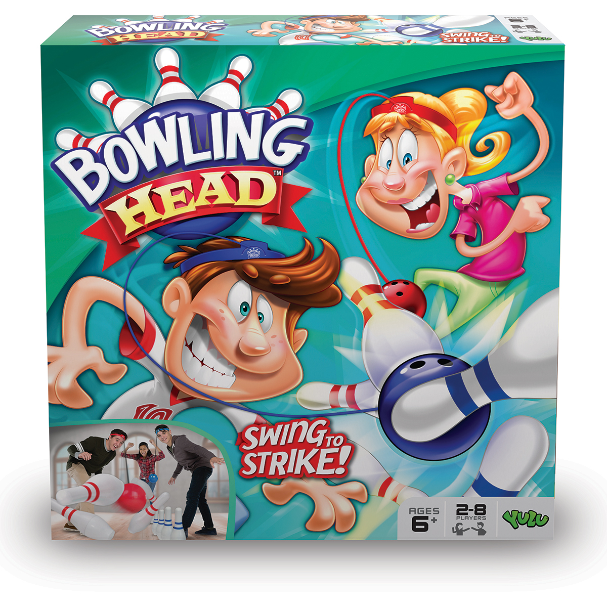 Image of   Bowling Head
