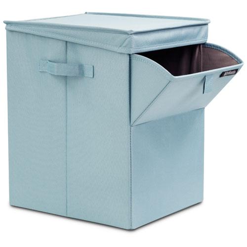 Image of   Brabantia stabelbar vasketøjskurv 35 liter mint (grøn)