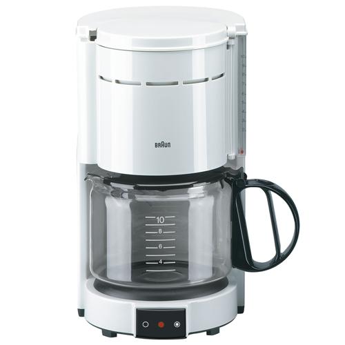 Image of   Braun kaffemaskine - Aromaster Classic KF47 - Hvid