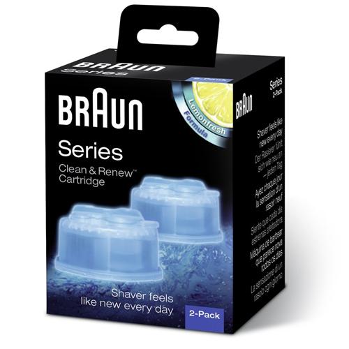 Braun rengøringspatron Clean & Renew