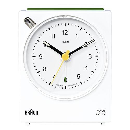 Braun vækkeur - BNC004 - Hvid