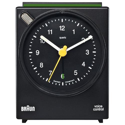 Braun vækkeur - BNC004 - Sort