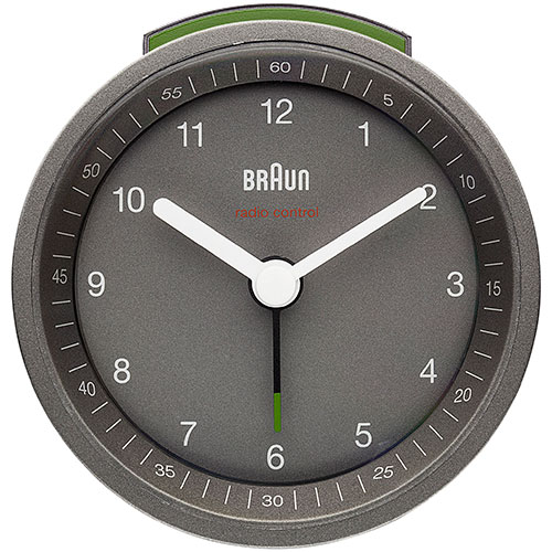 Braun vækkeur - BNC007-RC - Grå