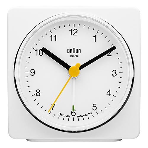Braun vækkeur - BNC011WH - Hvid