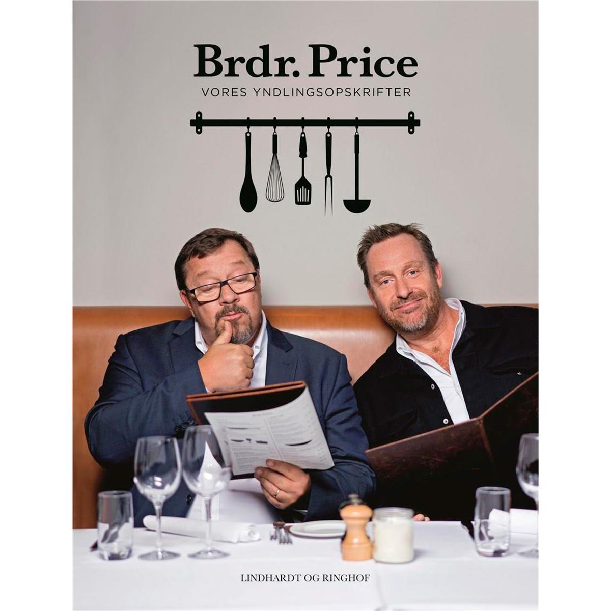 Image of   Brdr. Price - Vores yndlingsopskrifter - Hardback