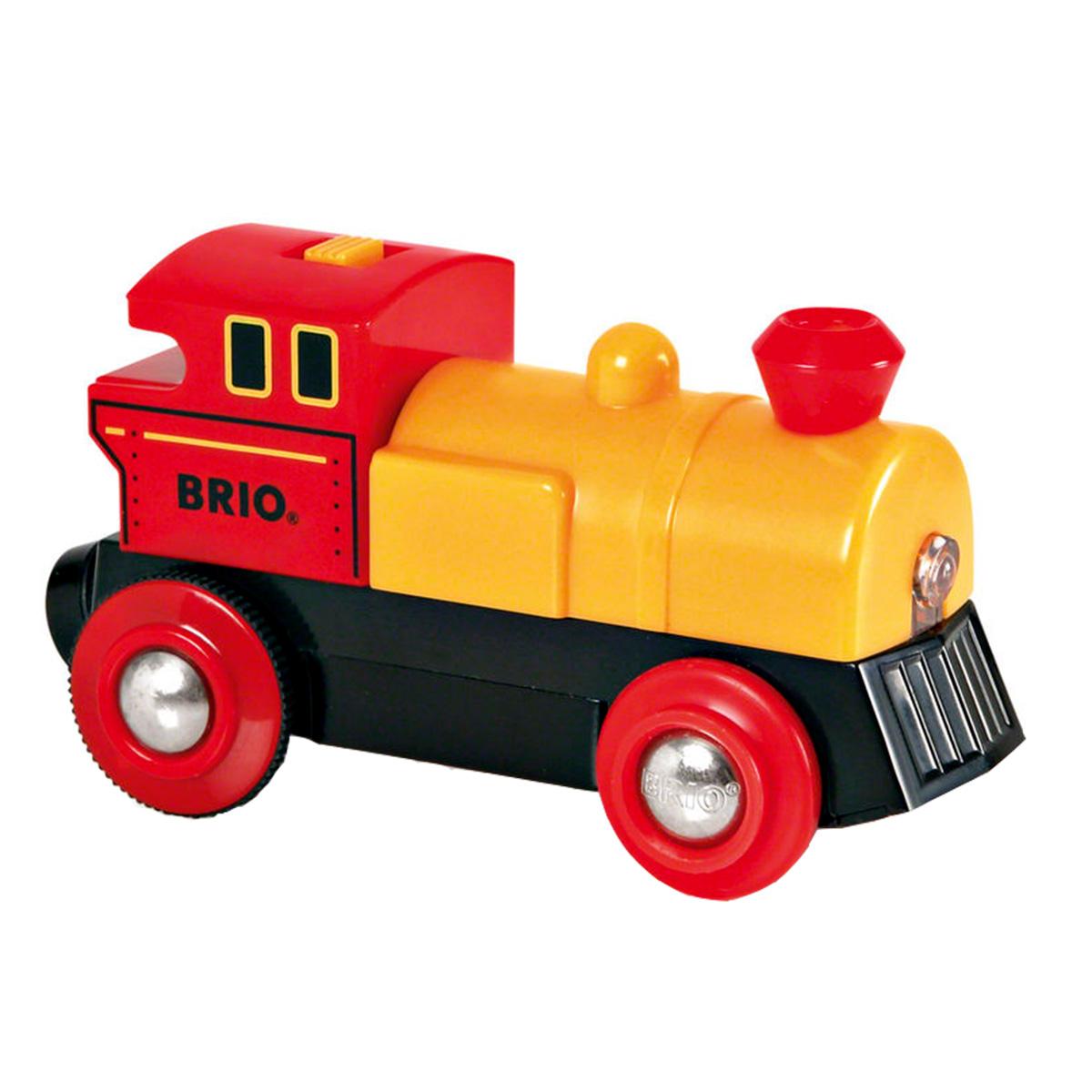 Image of   BRIO batteridrevet lokomotiv