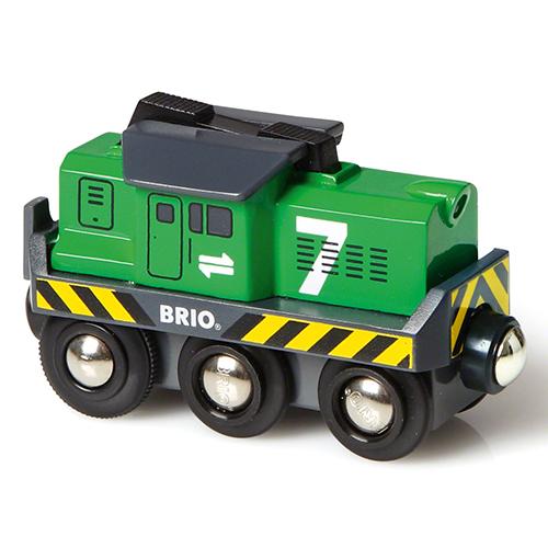 Image of   BRIO fragtlokomotiv