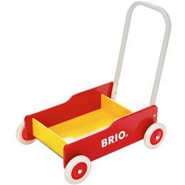 BRIO gåvogn - Gul/rød