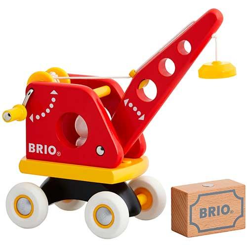 Image of   BRIO løfte- og læssekran