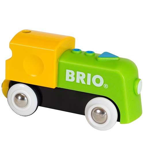 Image of   BRIO mit første batteritog