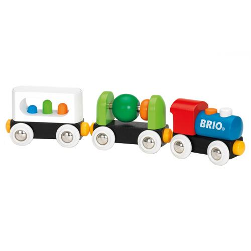 Image of   BRIO mit første tog