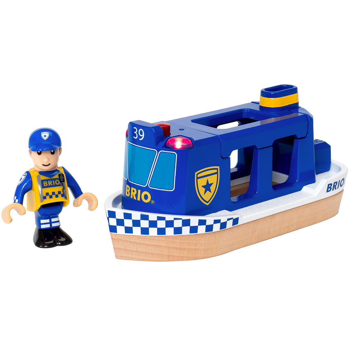 Image of   BRIO politibåd