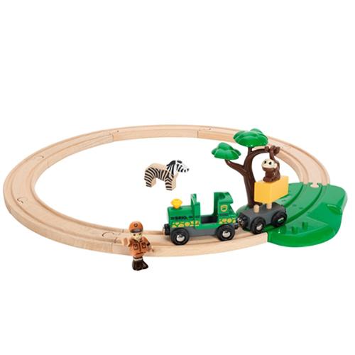 Image of   BRIO safari togbanesæt