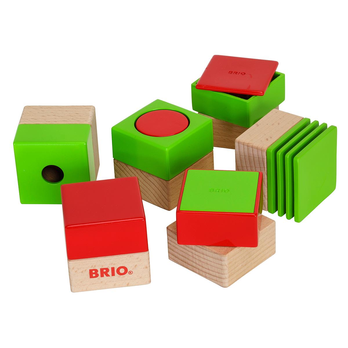 Image of   BRIO sensoriske klodser