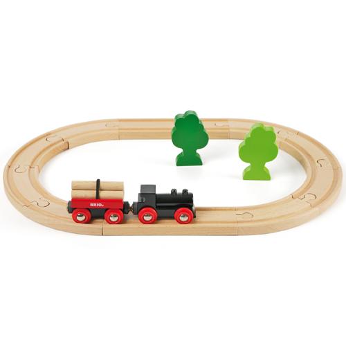 Image of   BRIO startersæt togbane
