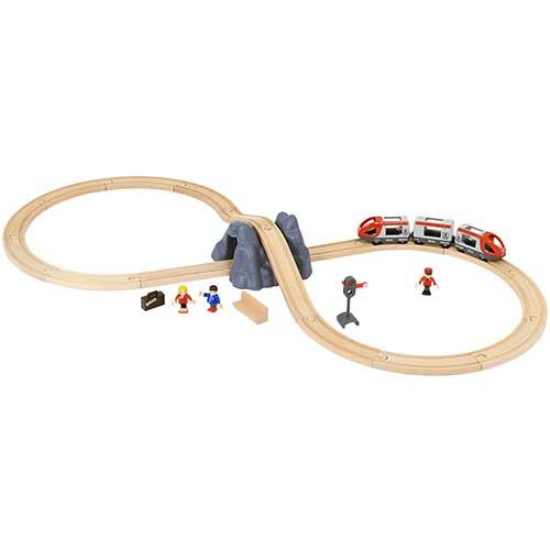 Image of   Brio startsæt med togbane og tilbehør