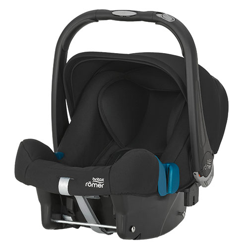 Image of   Britax Römer autostol - Baby-Safe Plus SHR II - Cosmos Black - 0-13 kg