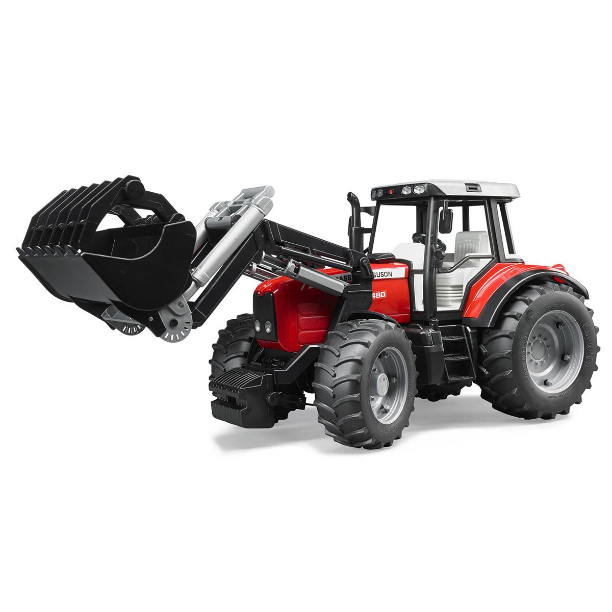 Bruder Massey Ferguson traktor