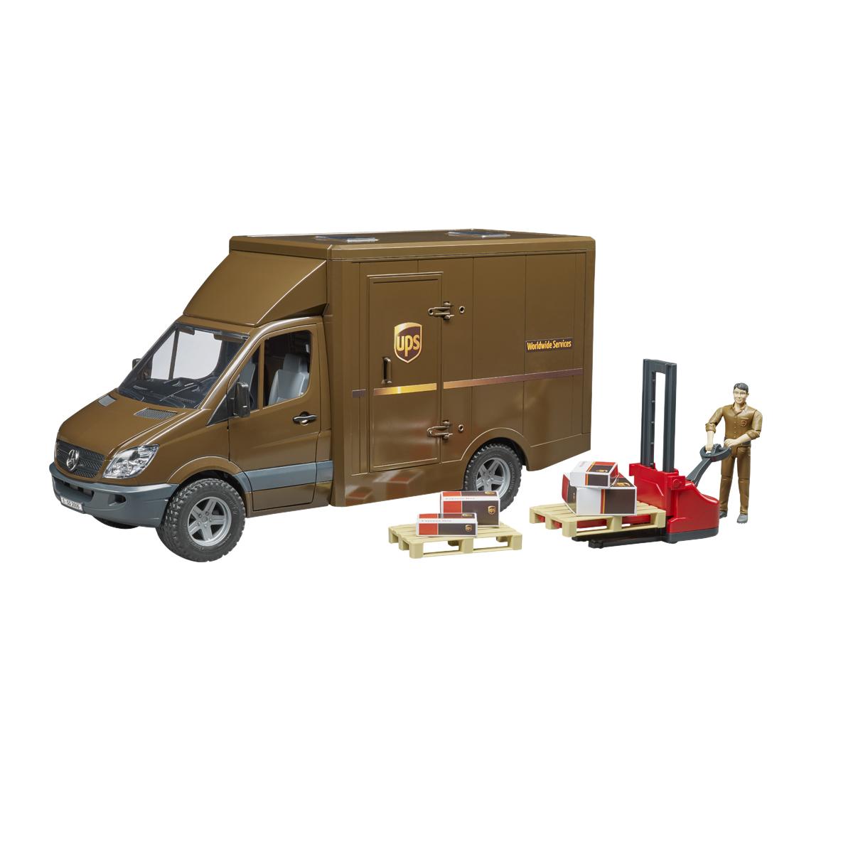Image of   Bruder UPS kassebil - MB Sprinter