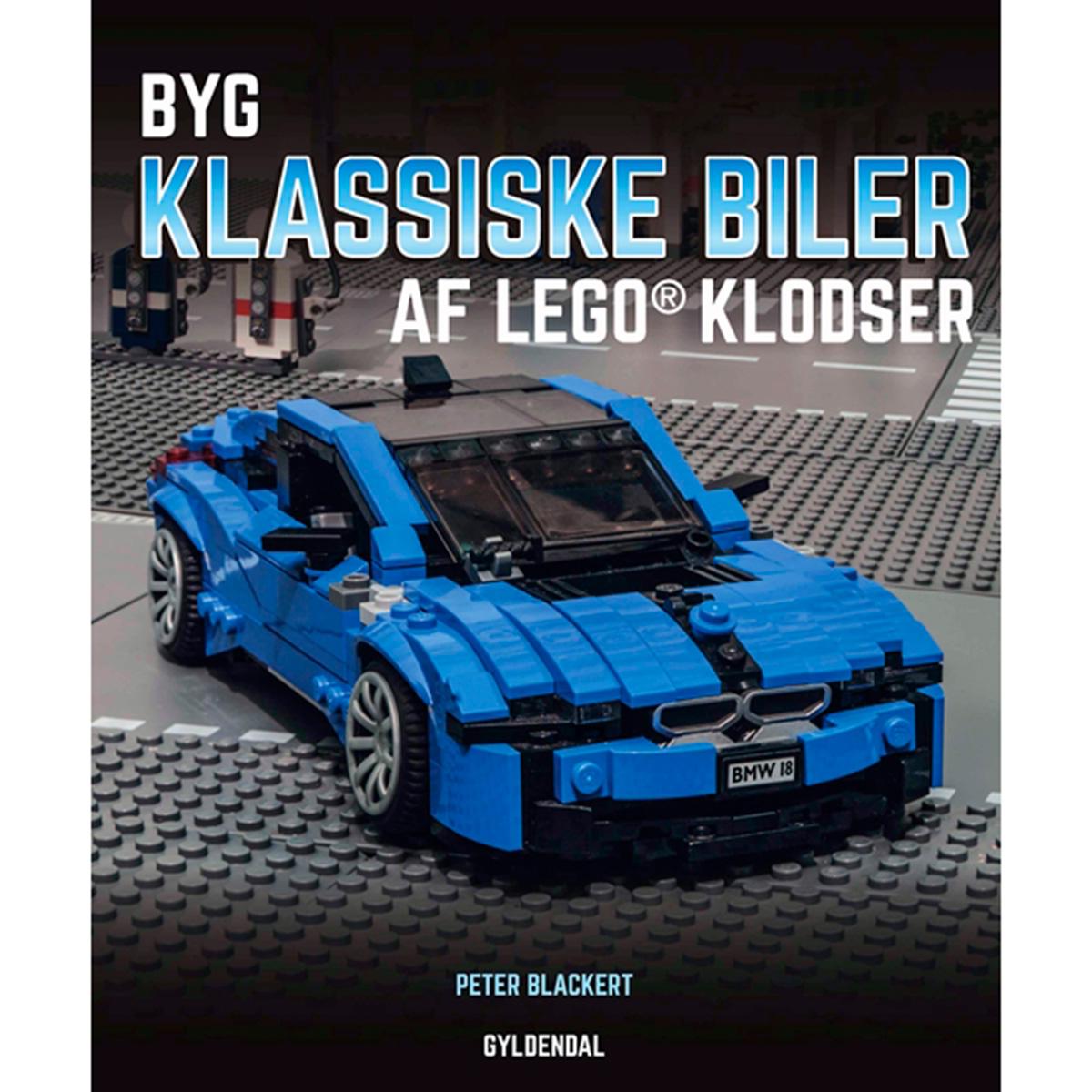 Image of   Byg klassiske biler af Lego klodser - Indbundet