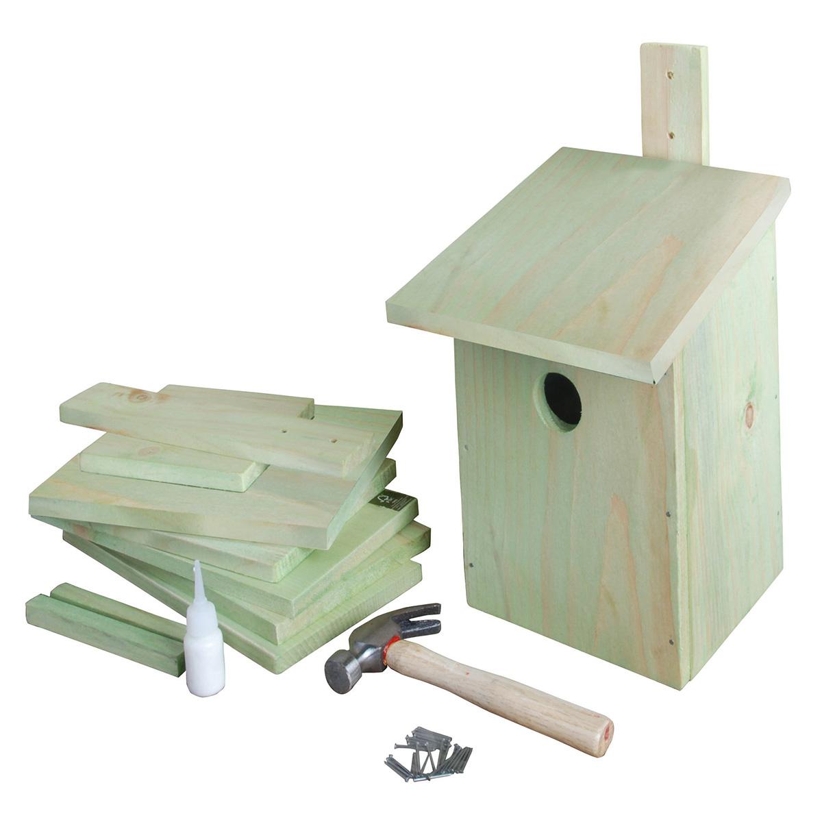 Image of   Byg selv-fuglereddekasse