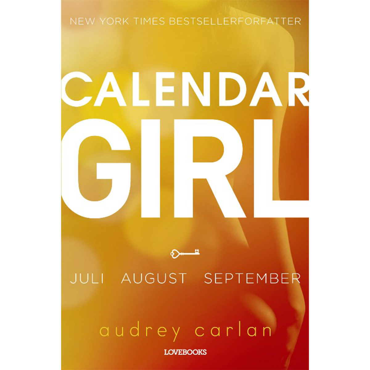 Image of   Calendar girl - juli-august-september - Hæftet
