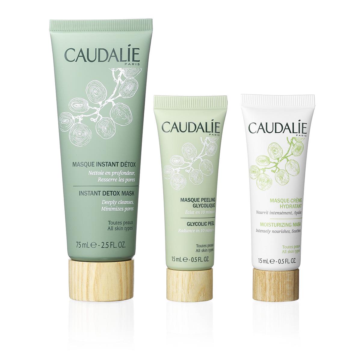 Image of   Caudalie Trio Masques - Mask Trio Set