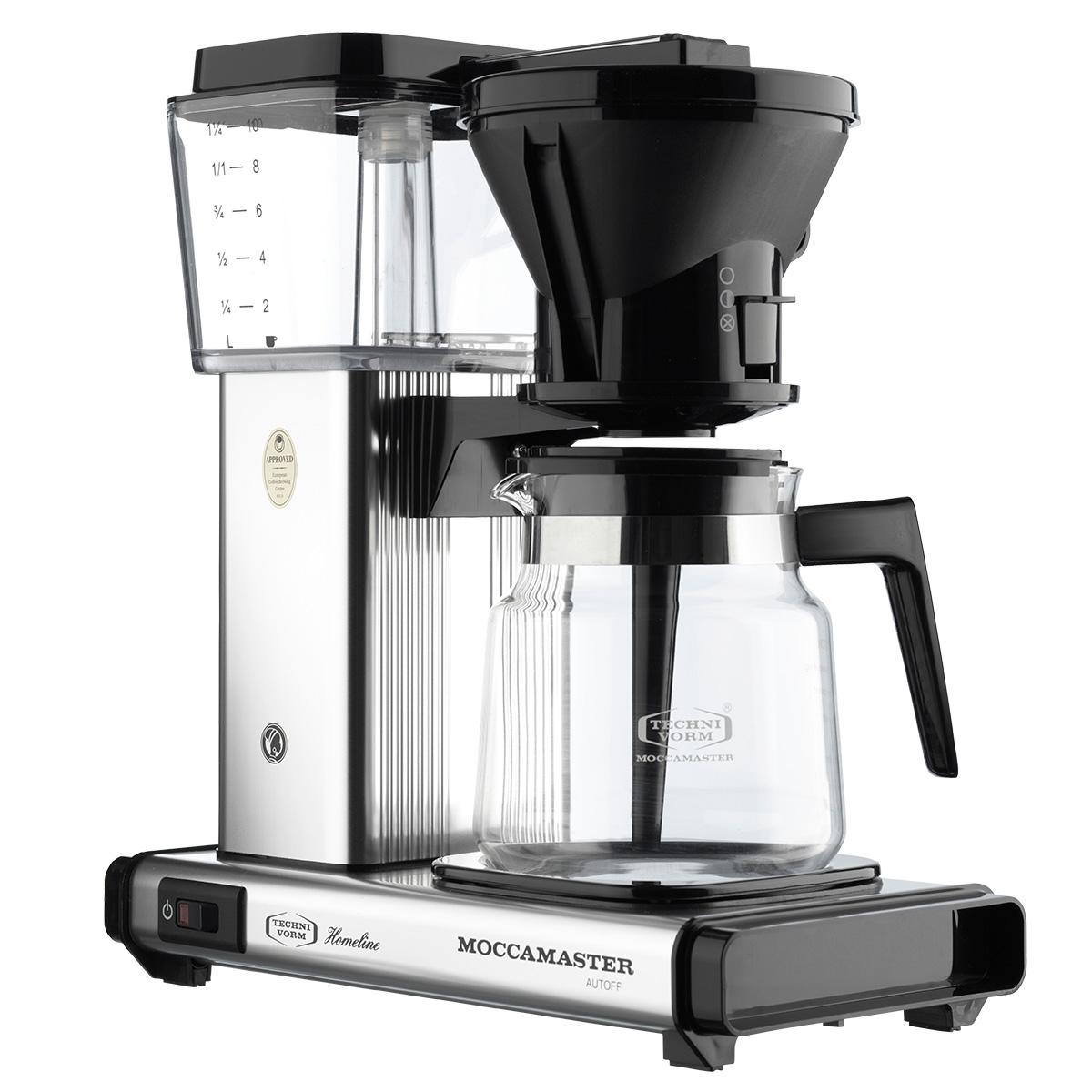 Image of   Cirkelpigen Moccamaster kaffemaskine - HB931 - Polished silver