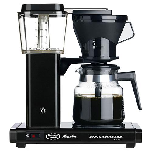 Cirkelpigen Moccamaster kaffemaskine - HB931 - Sort