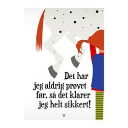 Image of   Citatplakat.dk - Aldrig prøvet før