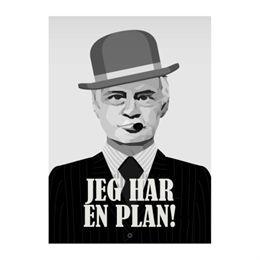 Image of   Citatplakat.dk - Jeg har en plan