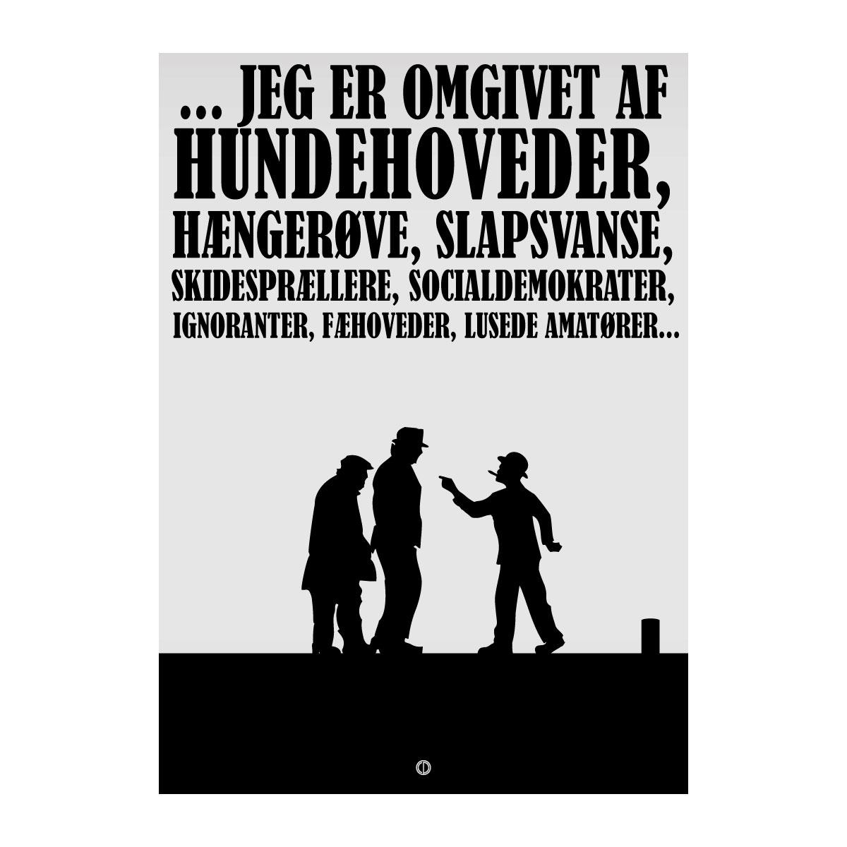 Image of   Citatplakat.dk - Olsen Banden Grafisk
