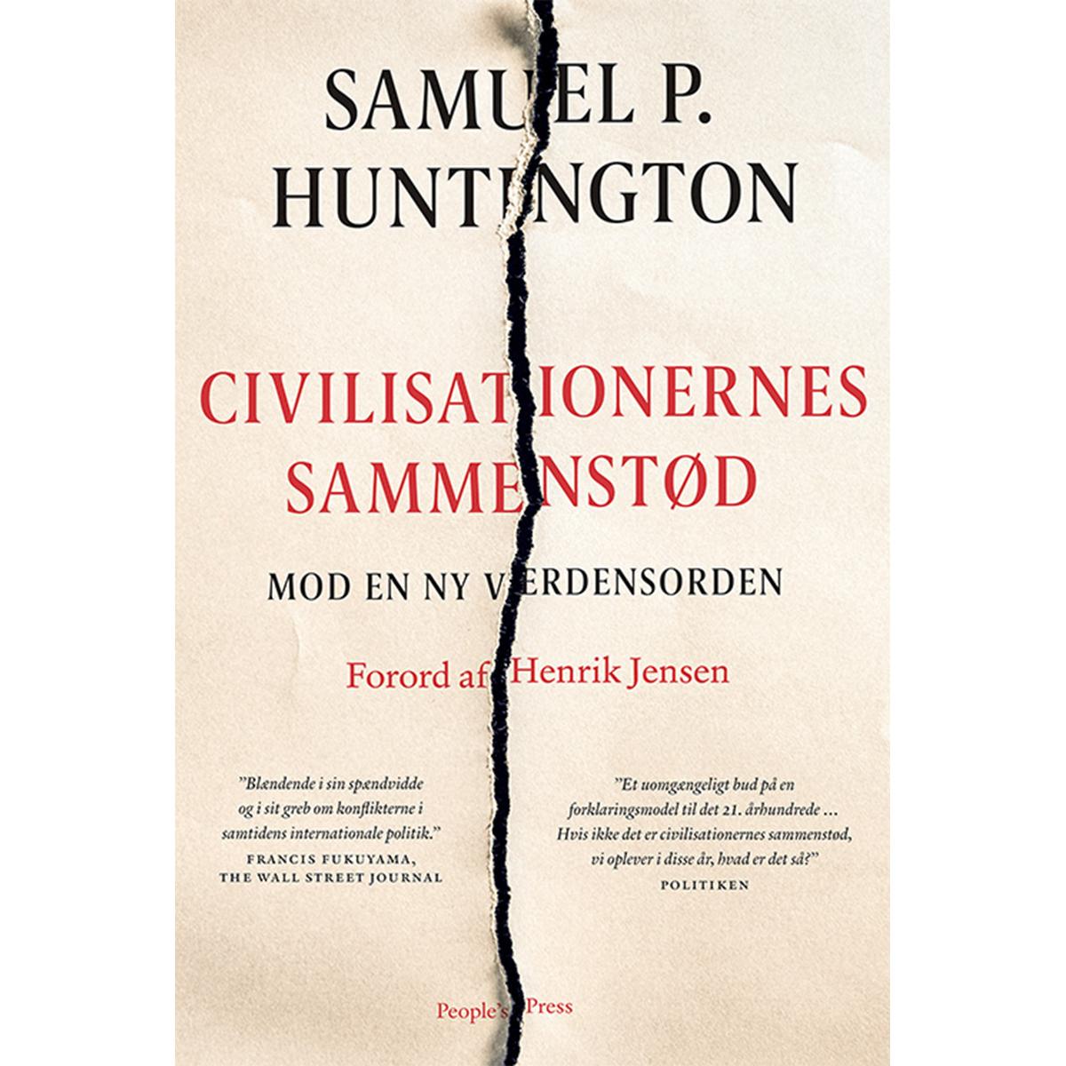 Image of   Civilisationernes sammenstød - Mod en ny verdensorden - Paperback