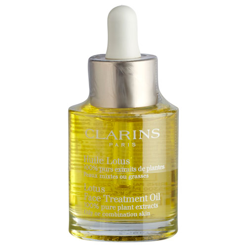 Clarins Face treatment oil LOTUS - 30 ml Til kombineret/fedtet hud