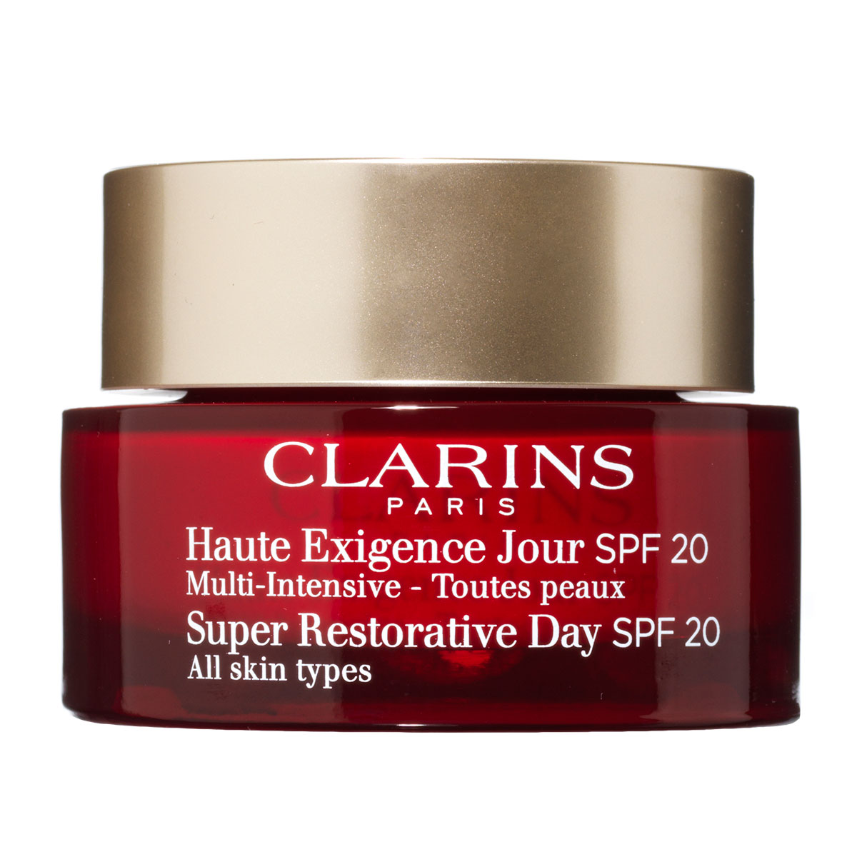 Clarins Super Restorative Day Cream SPF 20 - 50 ml Dagcreme til alle hudtyper