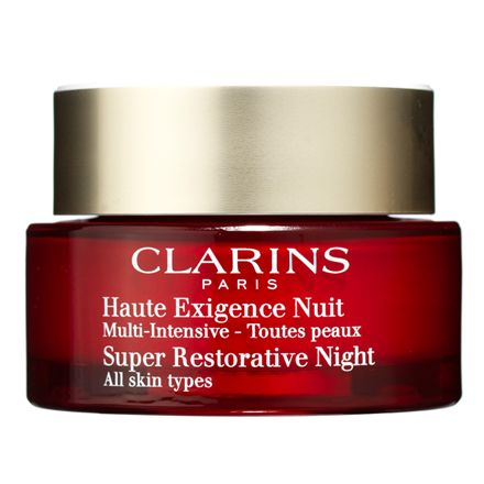 Clarins Super Restorative Night Cream - 50 ml Til alle hudtyper