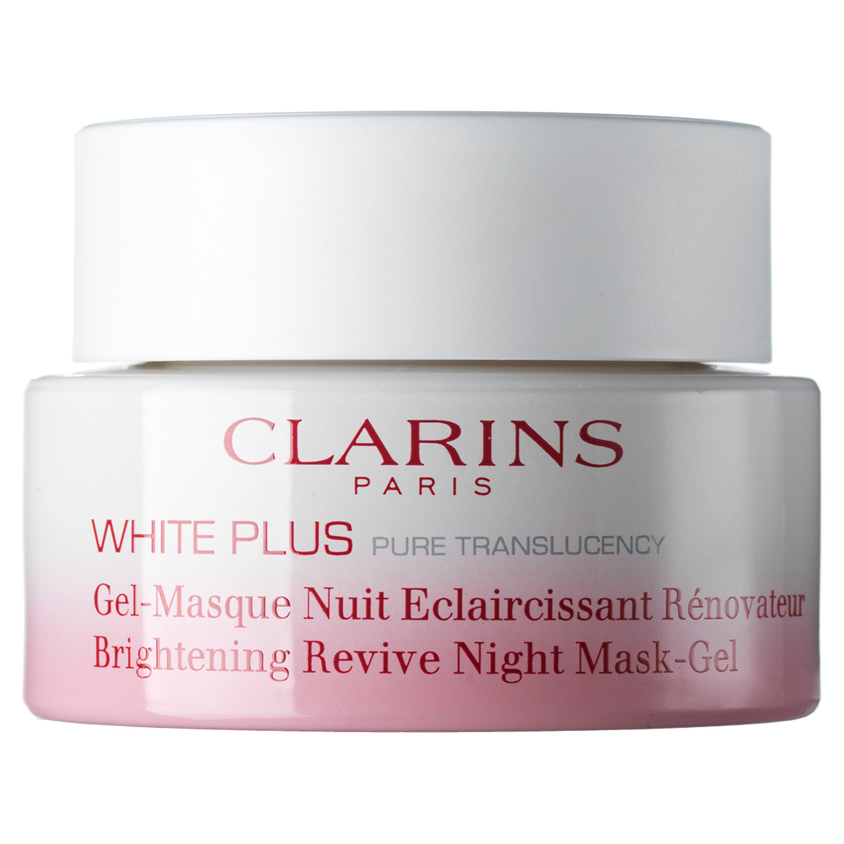 Image of   Clarins White Plus Brightening Revive Night Mask-Gel 50 ml