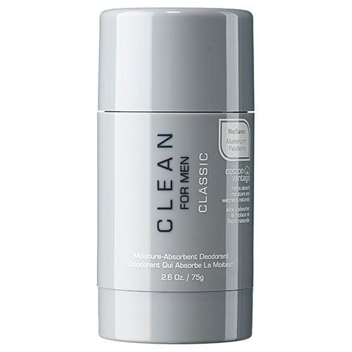 Clean Classic Men Moisture-Absorbent Deodorant - 75 g