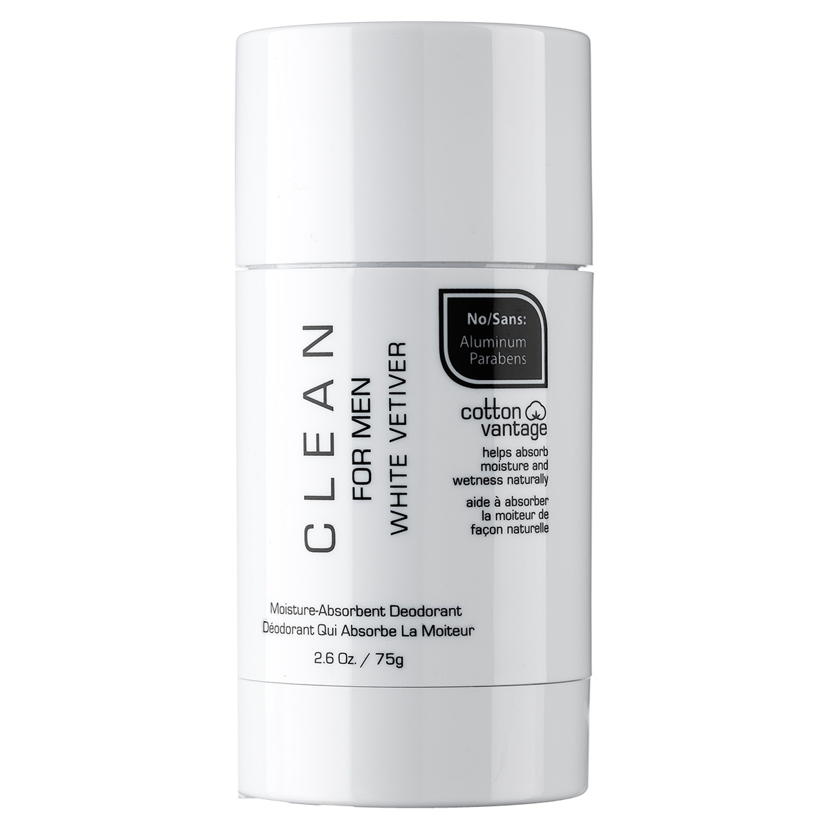 Clean White Vetivier For Men deostick - 75 g