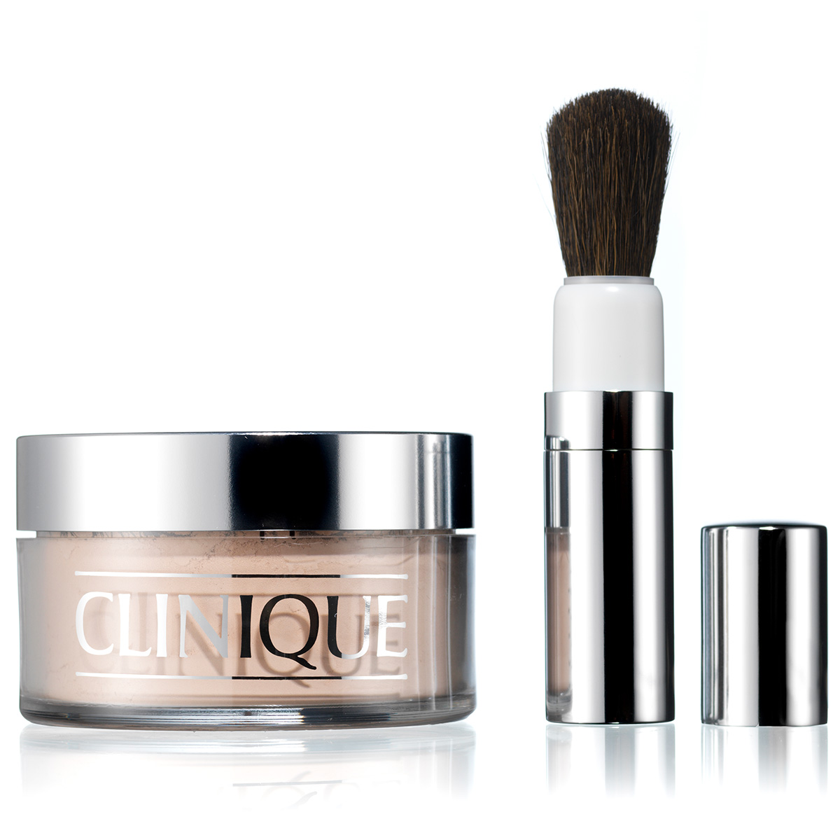 Clinique Blended Face Powder And Brush Transparency 02