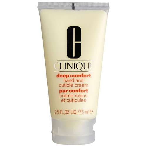 Clinique Deep Comfort Hand And Cuticle Cream - 75 ml Til alle hudtyper