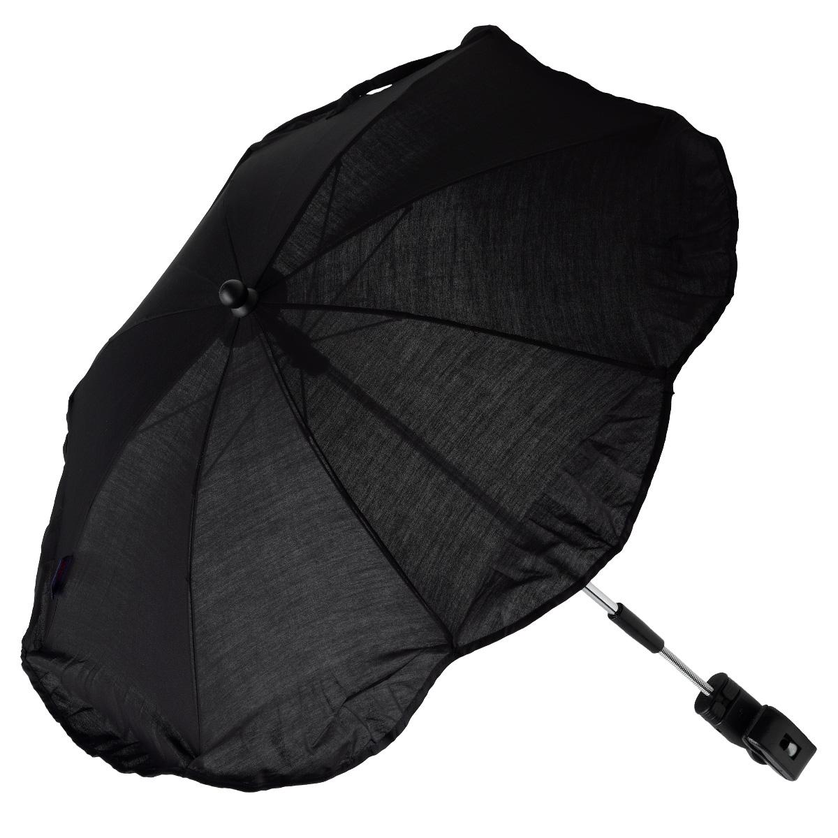 Clippasol parasol til barne- og klapvogn - Sort