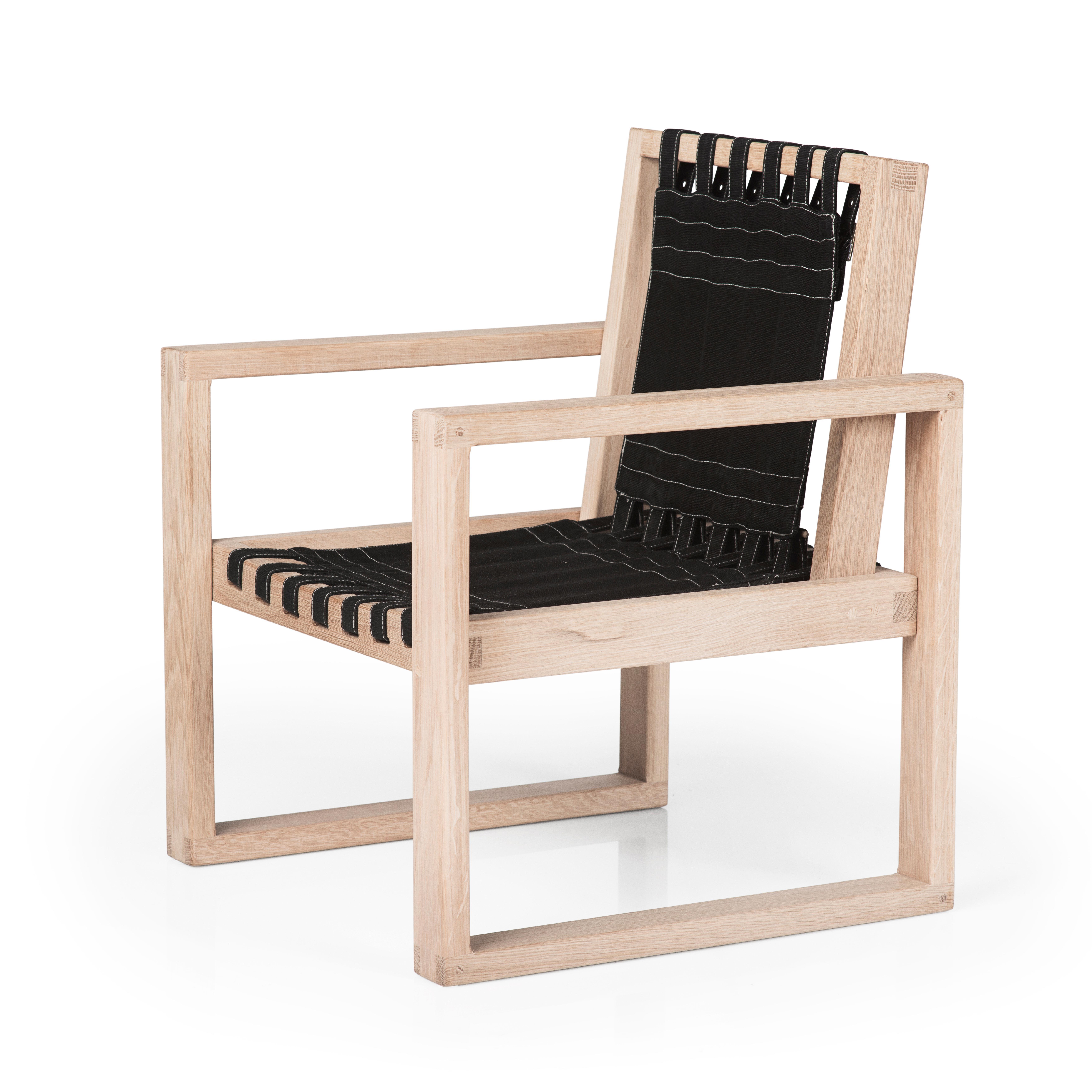 Image of   Collect Furniture stol - Frame Chair - Big - Ubehandlet eg/sort