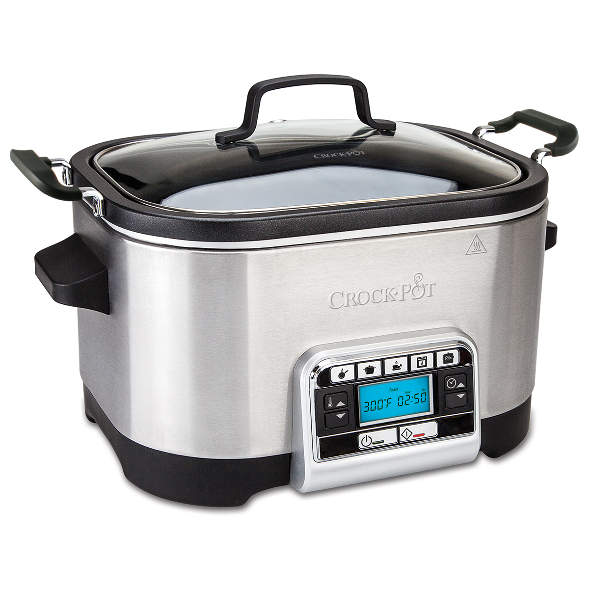 Crockpot multifunktionel slow cooker - 5,6 liter